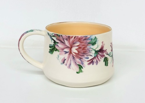 Floral Coffee Cup (CUP-B15)