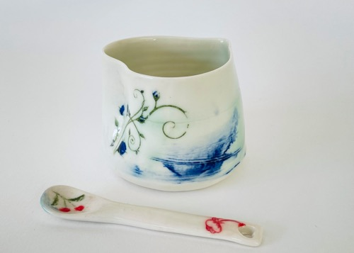 Heart Pot & Spoon (HSP-A6)