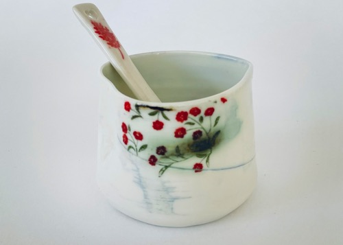 Heart Pot & Spoon (HSP-A7)