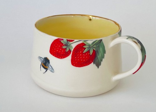 Floral Coffee Cup (CUP-D19)