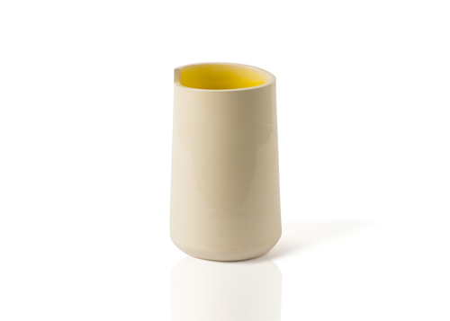 Vase Small Yellow